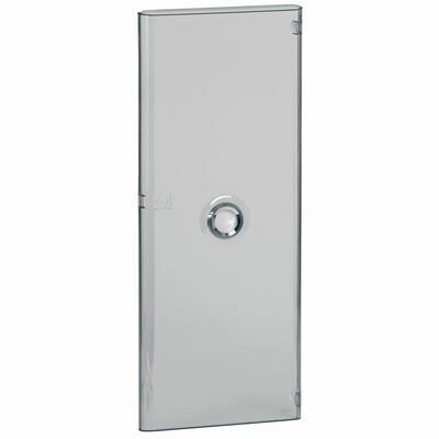 Porte pour coffret DRIVIA 4 rangées 13 modules - transparente